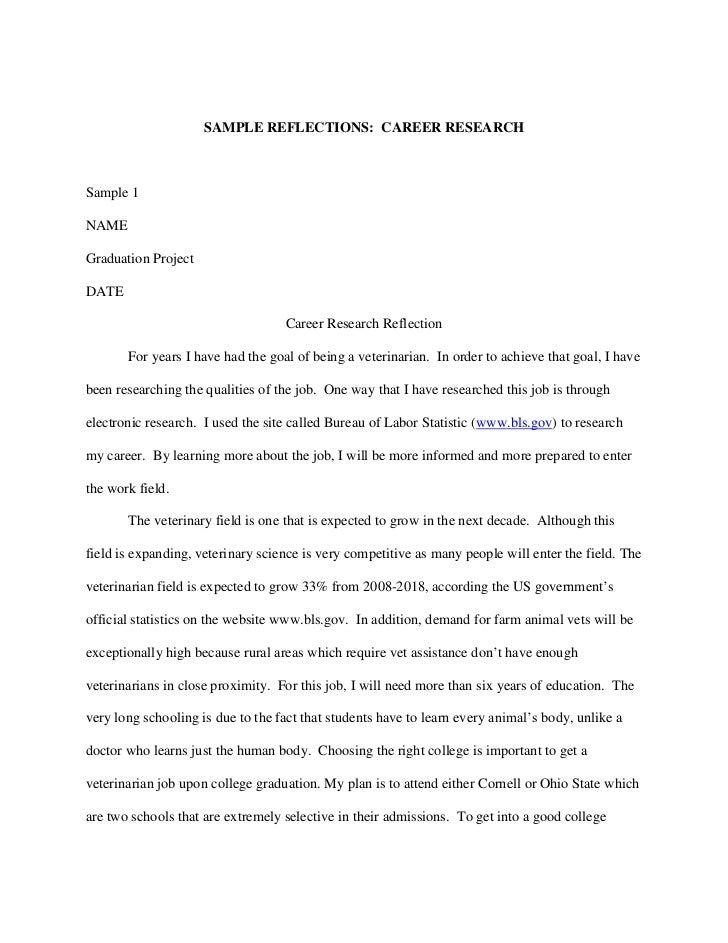 career plans essay