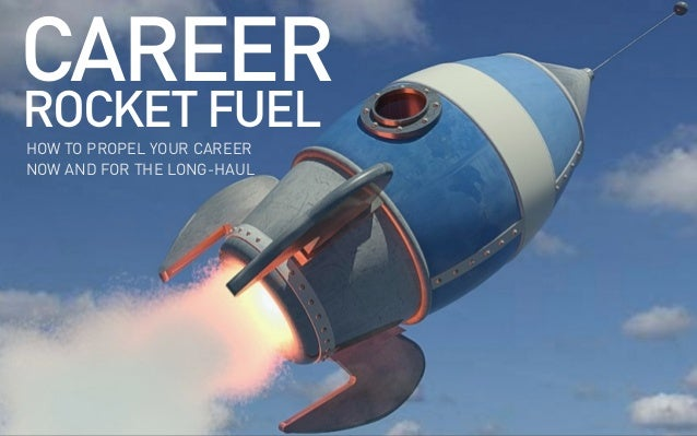 Career Rocket Fuel: Here's what you really need to get right about work