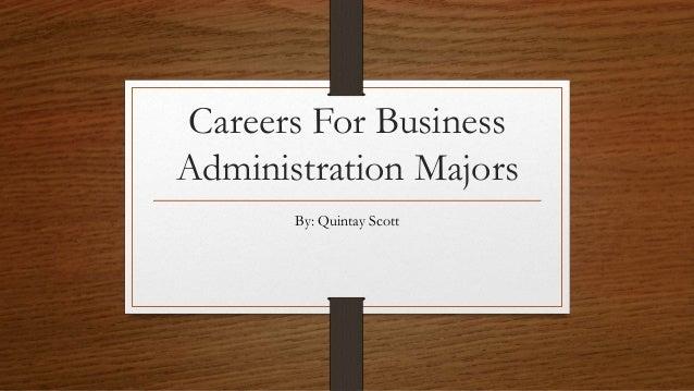 my reasons majoring business