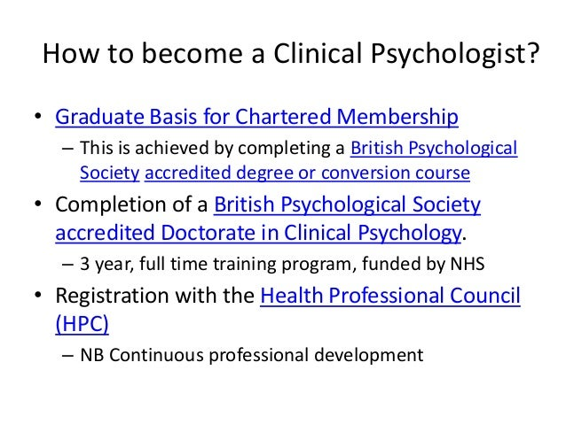 How do I become a psycologist?