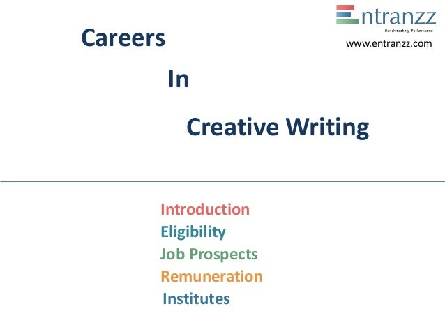 Creative writing job