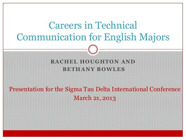 Technical communication careers
