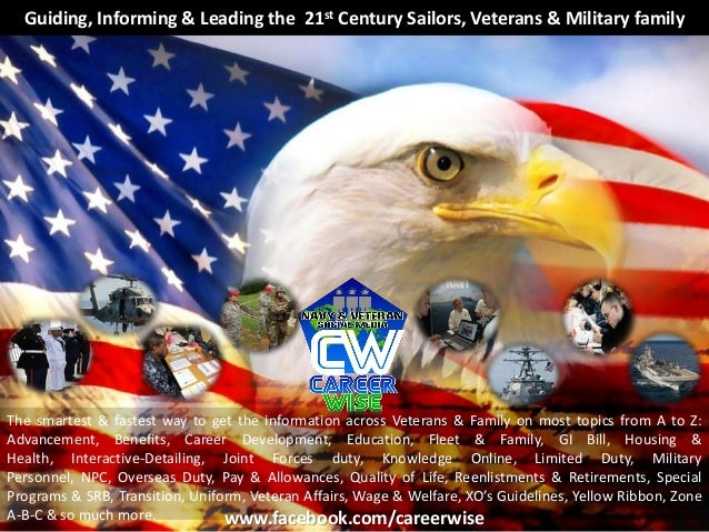 Guiding, Informing & Leading the 21st Century Sailors, Veterans & Military familyThe smartest & fastest way to get the inf...