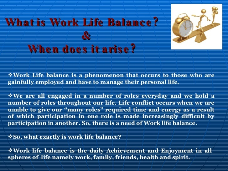 work life balance thesis in india Work–life balance is the term used to describe the balance that an individual needs between time allocated for work and other aspects of life.