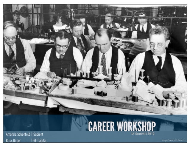 Career Workshop - IA Summit 2013