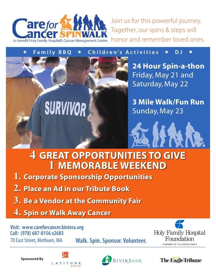 Care for cancer Sponsorbook 2010