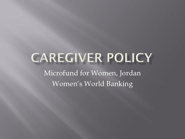 Microfund for Women, Jordan Women's World Banking