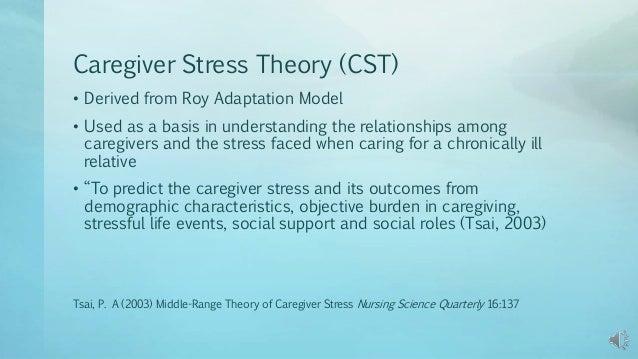 caregiver objective
