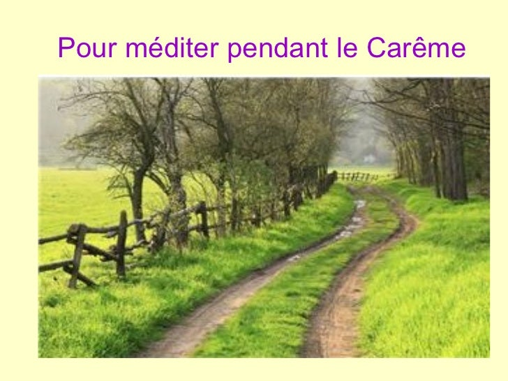 Chemin de Careme