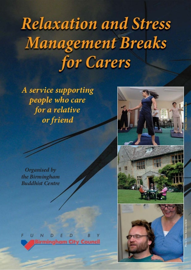 A service supporting  people who care                       Photo: Timm Sonnenschein    for a relative      or friend  Org...