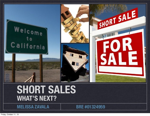 Short Sales: What's Next?