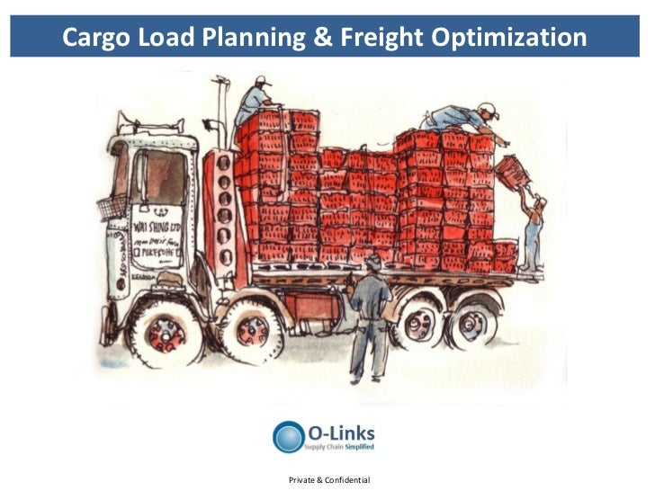 Cargo load planning & freight optimization
