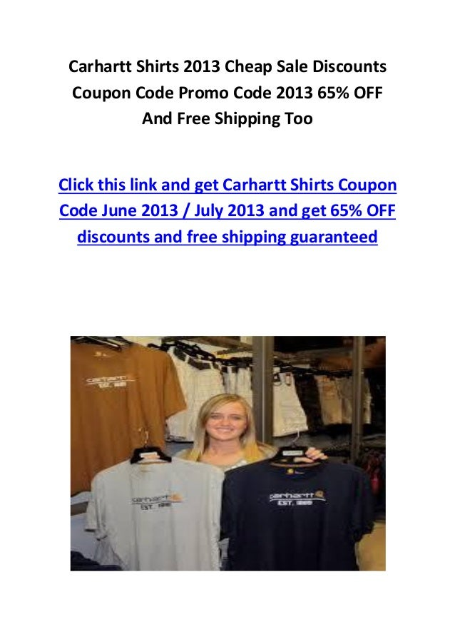 Carhartt coupons printable