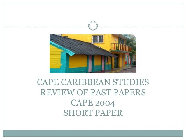 caribbean studies essay questions and answers Explore the latest articles, projects, and questions and answers in multiple choice questions, and find multiple choice questions experts.