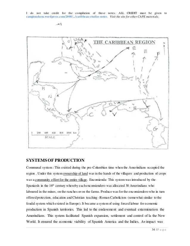 caribbean studies notes essay Quiz question 1 list three the caribbean development bank was set up to finances regional projects that contribute to the write brief notes on.