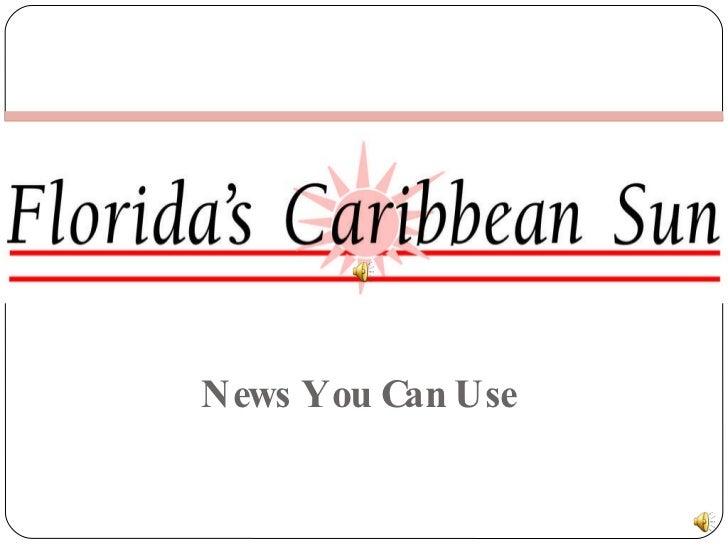 Florida's Caribbean Sun Presentation