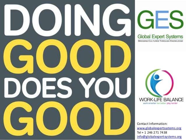 Caribbean Work-Life Balance Trade Show 2013 - Volunteerism