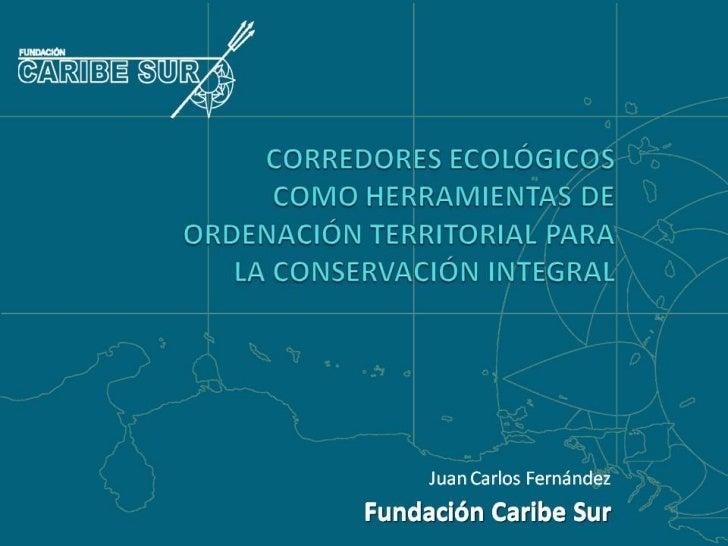 Caribe Sur Corredores Ecologicos como herramientas para la Conservación. Foro bosques 2011