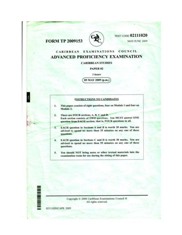 cape caribbean studies past paper term paper academic service