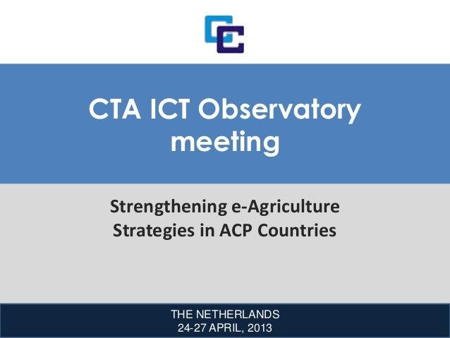 CARICOM-  cta ict observatory meeting