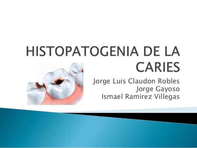 Jorge Luis Claudon Robles Jorge Gayoso Ismael Ramirez Villegas
