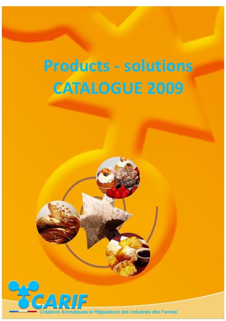 Products - solutions CATALOGUE 2009