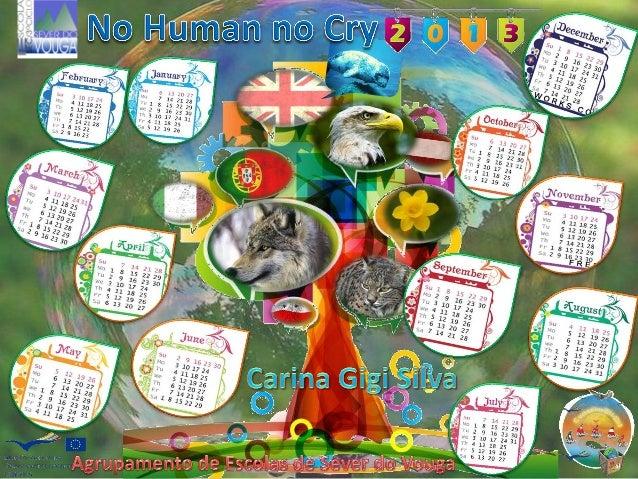 NHNC 2013 calendar by Carina Silva