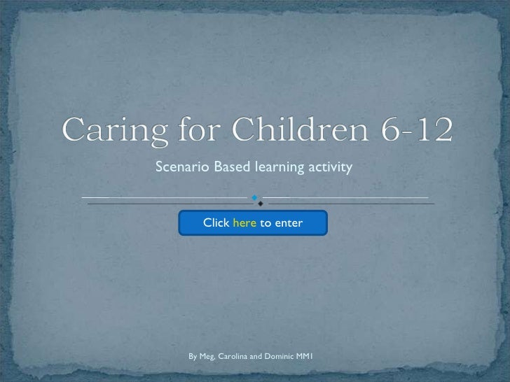 Scenario Based learning activity Click  here  to enter By Meg, Carolina and Dominic MM1