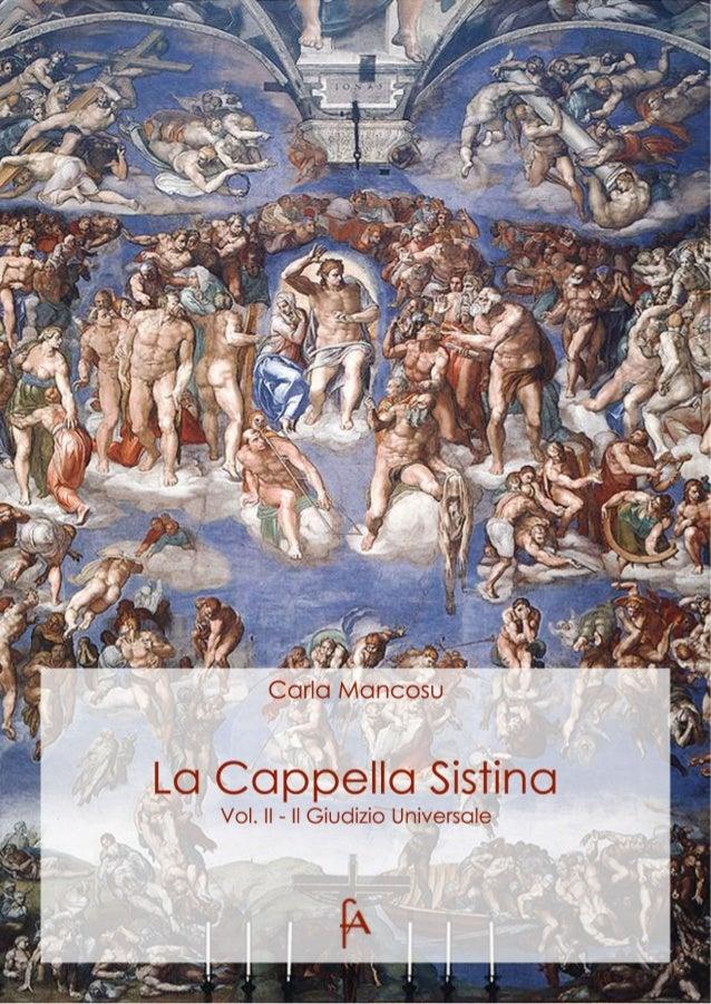 Carla MancosuLa Cappella SistinaVol. II – Il Giudizio Universale        eBook per larte           uniniziativa