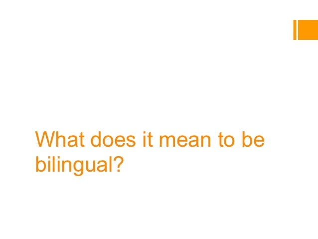 What does it mean to bebilingual?Assessment and instruction with the Common EuropeanFramework of Reference for Language