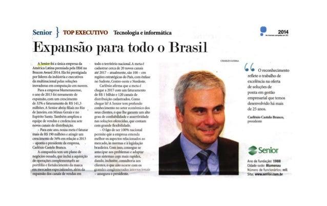 A Notícia   Expansão para todo o Brasil