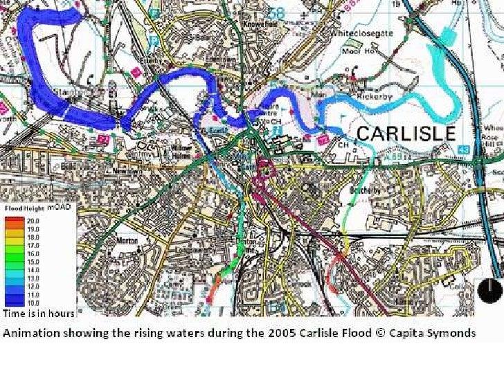 Carlisle flooding gif