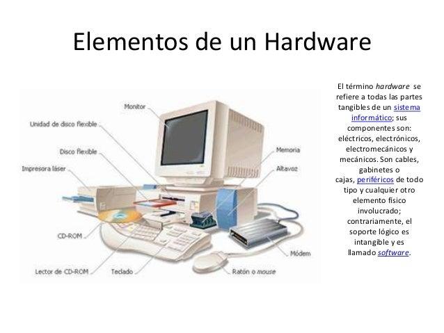 Carlis suarez elementos de un computador for Elementos de hardware