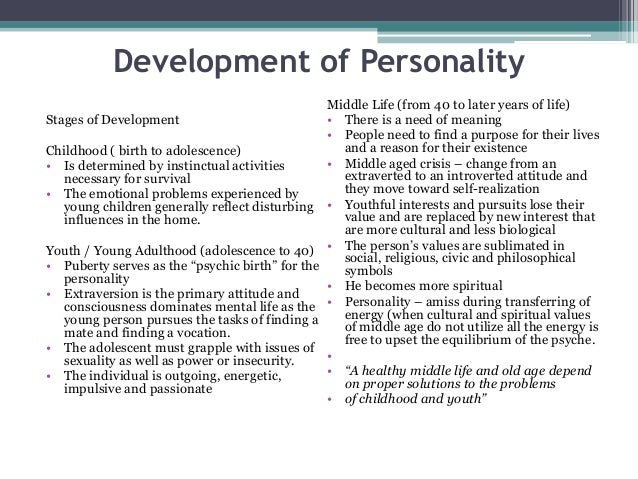 Jungian personality types
