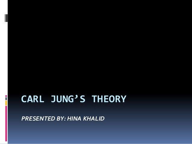 Carl jung's theory