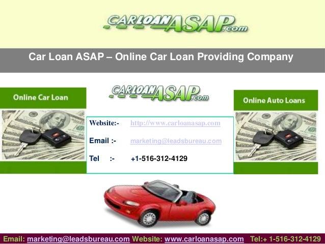 direct online auto loans service