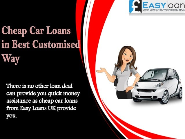 How To Get A Cheap Car Loan With Bad Credit