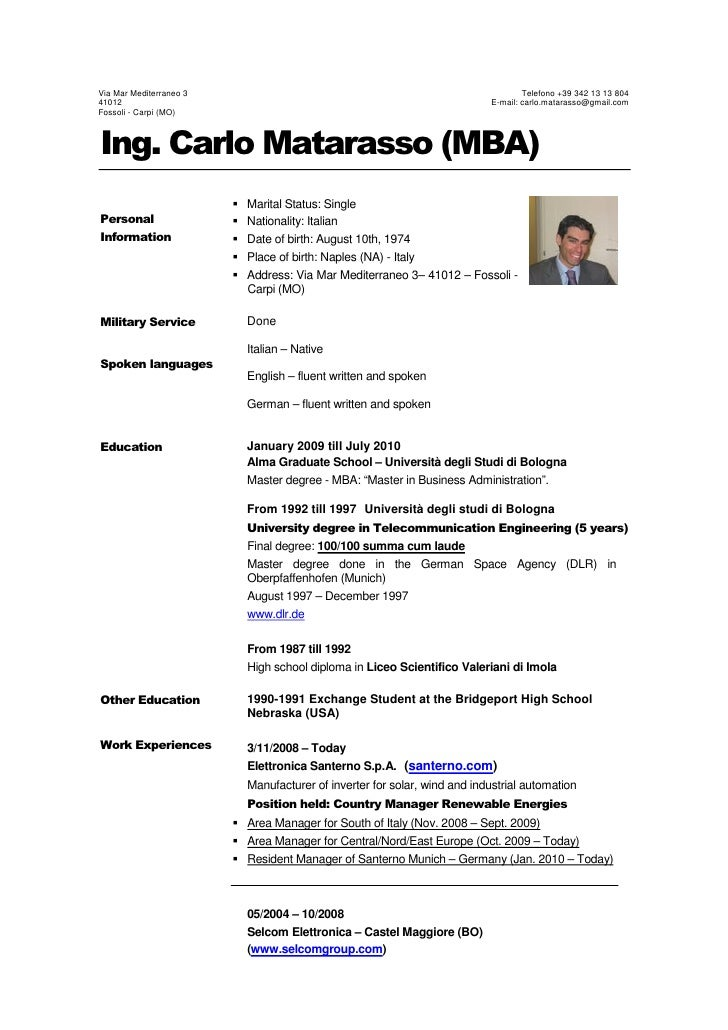 Mba Resume Tips. mba application resume examples. top 10 interview ...