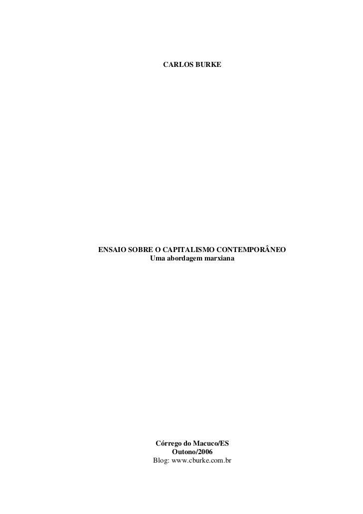 Carlos burke-ensaio-capitalismo-contemporaneo