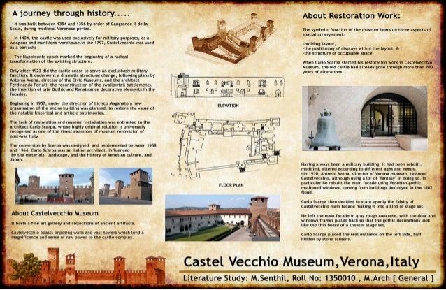Carlo scarpa's castel vechhio museum