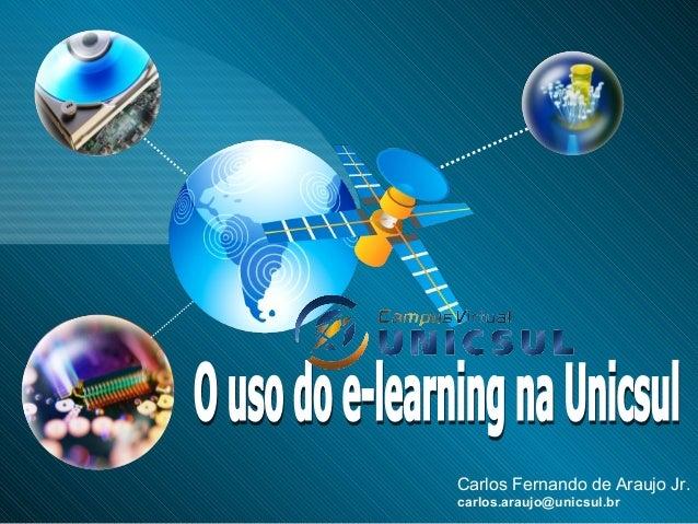 Carlos Fernando de Araujo Jr. carlos.araujo@unicsul.br