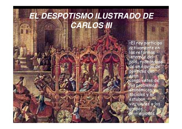 Carlos iii - Reformas economicas en madrid ...