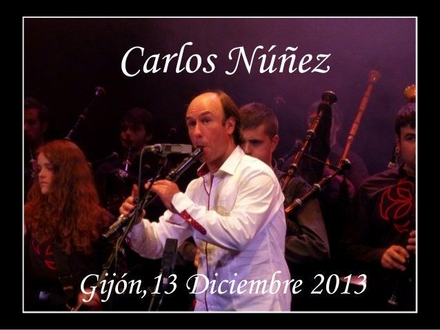 Carlos Núñez en Gijón