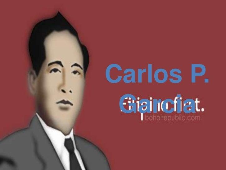 Carlos P. Garcia