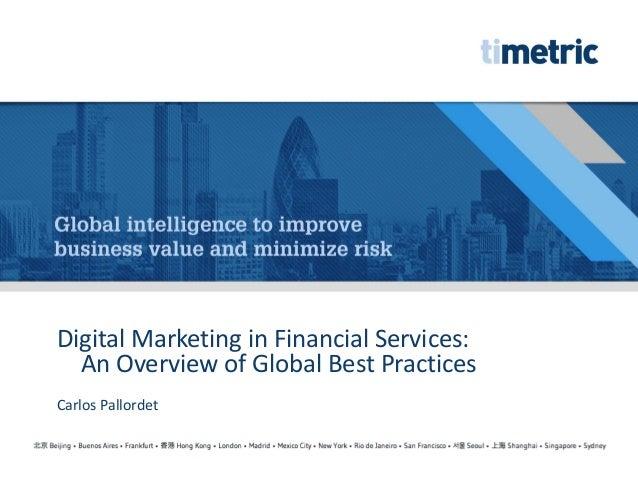 Carlos pallordet   digital marketing in financial services
