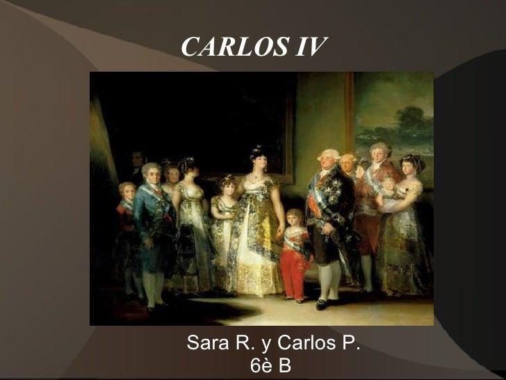 CARLOS IVSara R. y Carlos P.      6è B