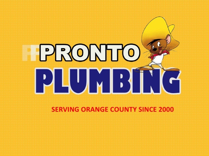 Pronto Plumbing (Carlos The Plumber)