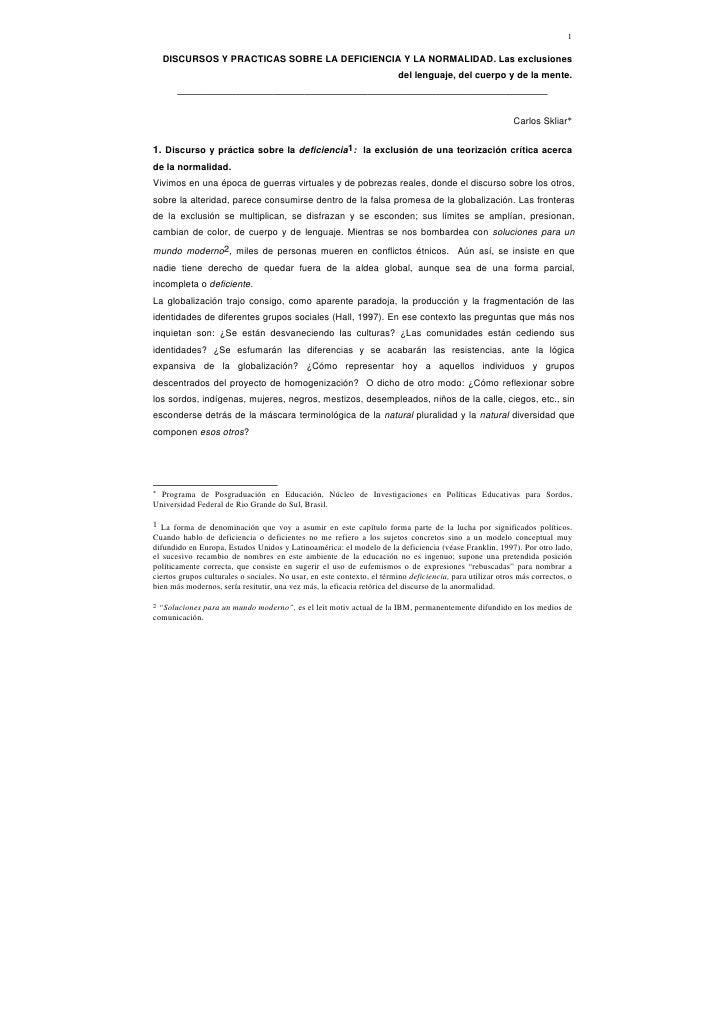 Carlos skliar -_discursos_y_practicas_sobre_la_deficiencia_y_la_normalidad