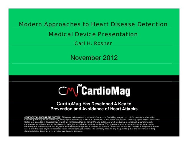 Modern Approaches to Heart Disease Detection        pp                             Medical Device Presentation            ...