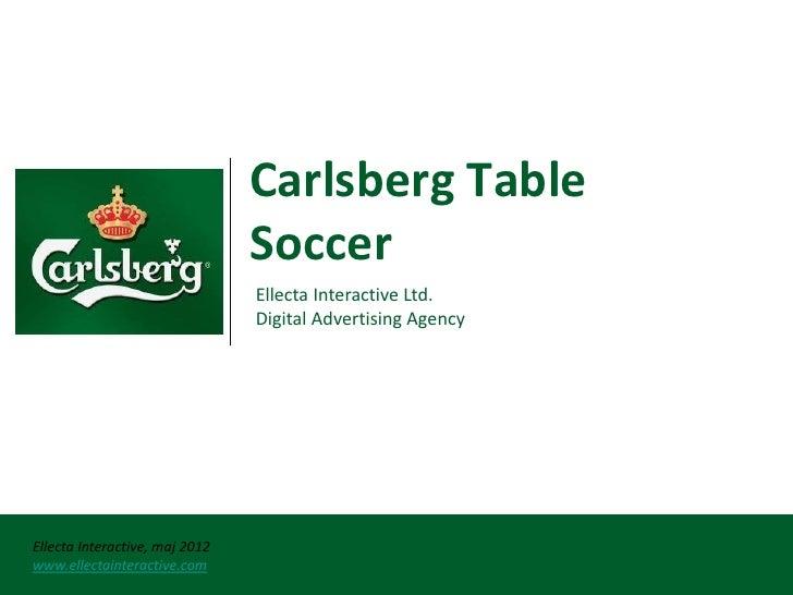 Carlsberg table soccer ser 08.05.2012